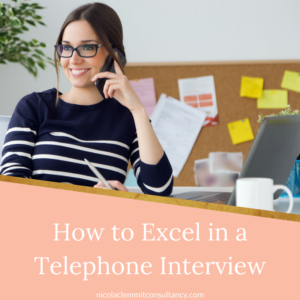 How to give a telephone Interview