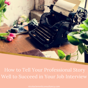 Your Professional Story