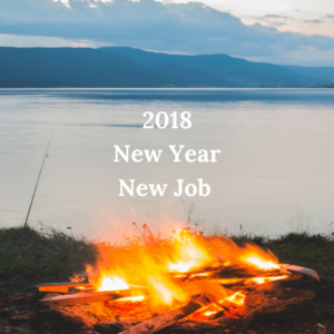 New Year New Job. Make 2018 your best career year